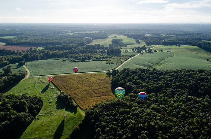Fall in North Carolina Carolina Balloonfest Statesville NC