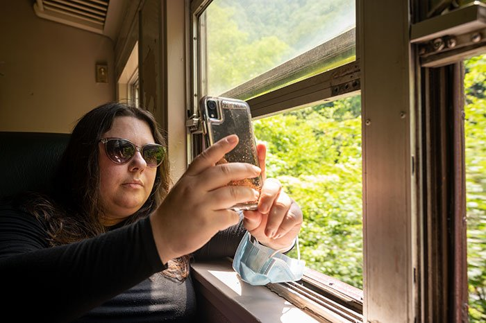 Great Smoky Mountain Railroad adults