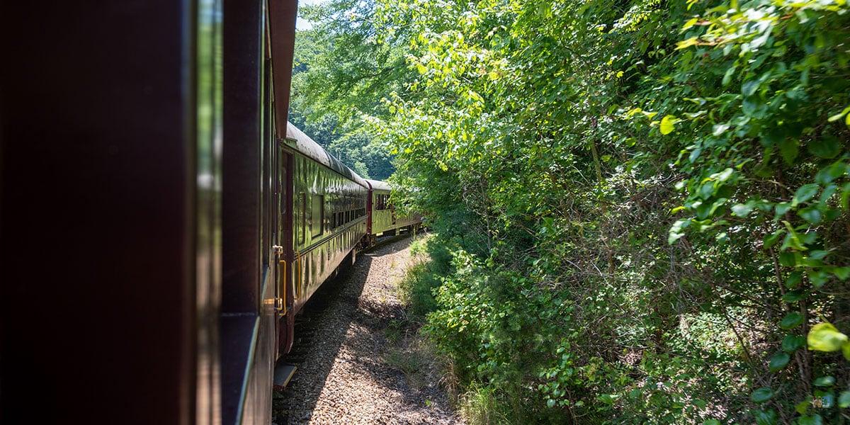 Great Smoky Mountains Railroad Bryson City North Carolina