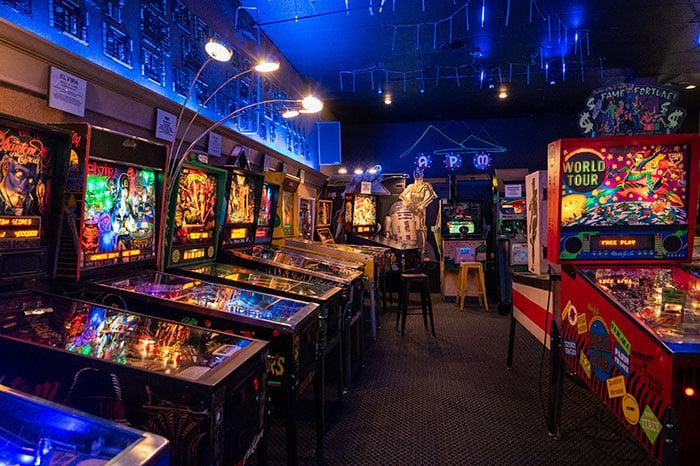 Hendersonville NC Appalachian Pinball Museum