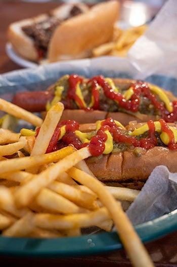 Hendersonville Restaurants hot dogs