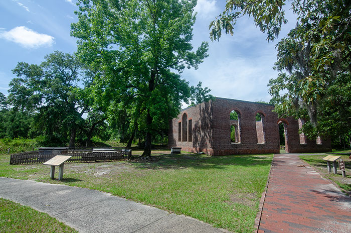 Hiking Trails in North Carolina Brunswick Town Fort Anderson