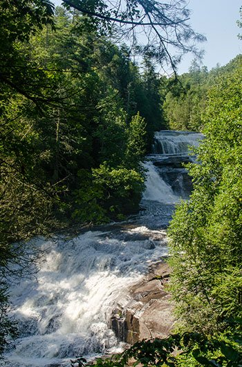Hiking Trails in North Carolina DuPont State Forest Triple Falls