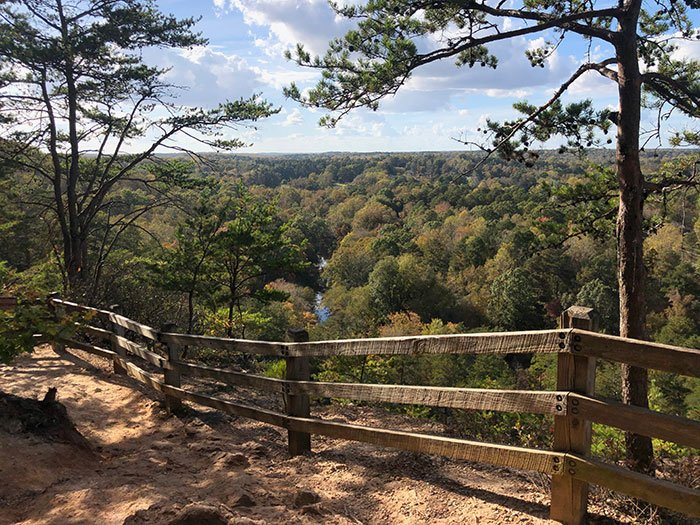 Hiking Trails in North Carolina Occoneechee Mountain Hillsborough NC