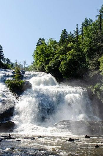 Hiking near Hendersonville High Falls