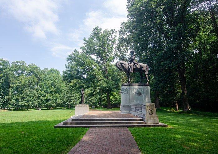 National Parks in North Carolina Guilford Courthouse National Military Park Greensboro NC