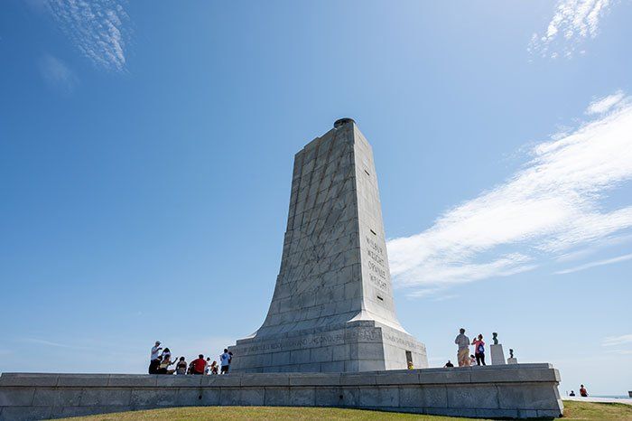 National Parks in North Carolina Wright Brothers National Monument Outer Banks