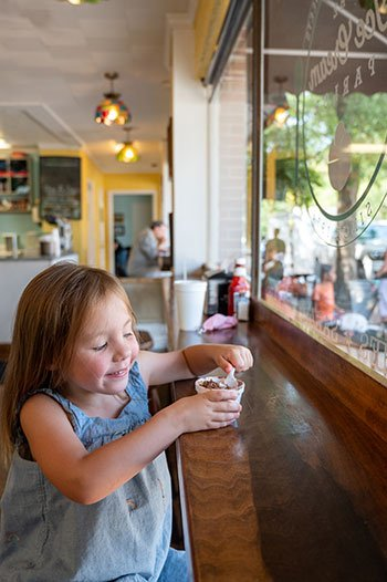 Southern Pines Ice Cream Parlor