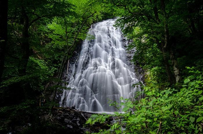 Crabtree Falls Yancey County North Carolina