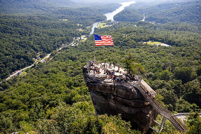 Day Trips from Charlotte NC Chimney Rock State Park