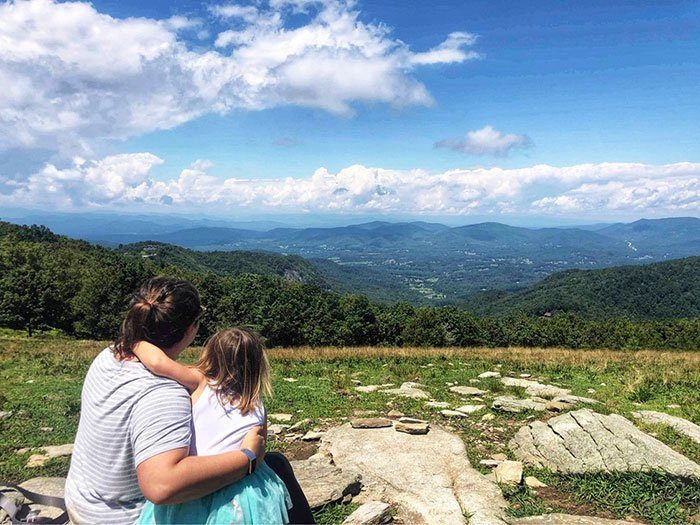 Henderson County NC Bearwallow Mountain