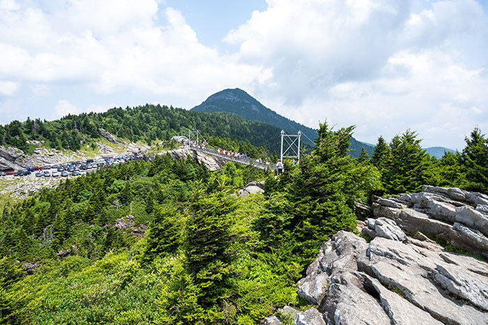 Hikes near Asheville Grandfather Mountain NC