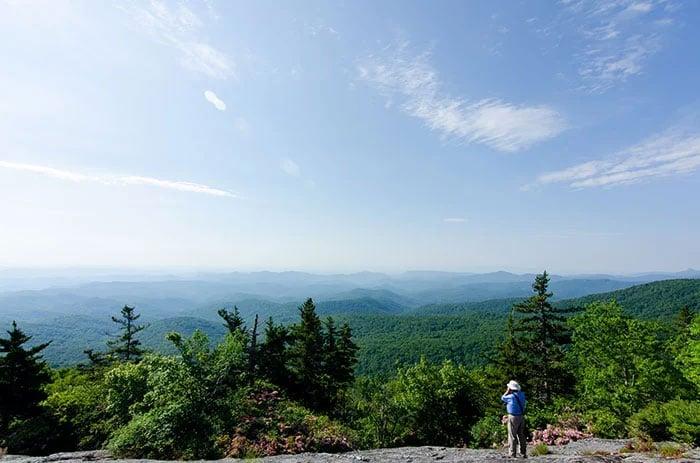 Hikes near Asheville NC Beacon Heights