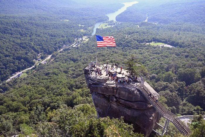 Hikes near Asheville NC Chimney Rock State Park