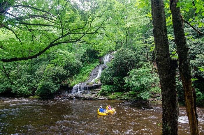 Hikes near Asheville NC Deep Creek Trail Bryson City