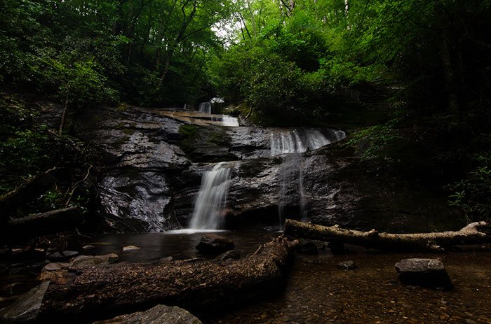 Hikes near Asheville Setrock Creek Falls