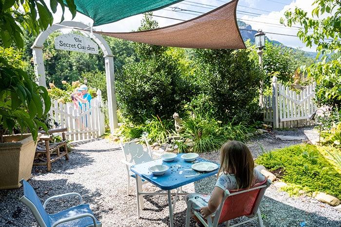 Lake Lure Flowering Bridge Childrens Secret Garden