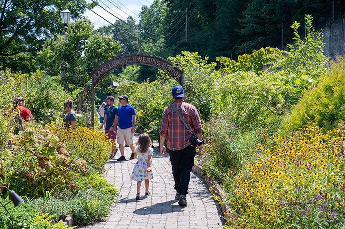 Lake Lure Flowering Bridge walkway