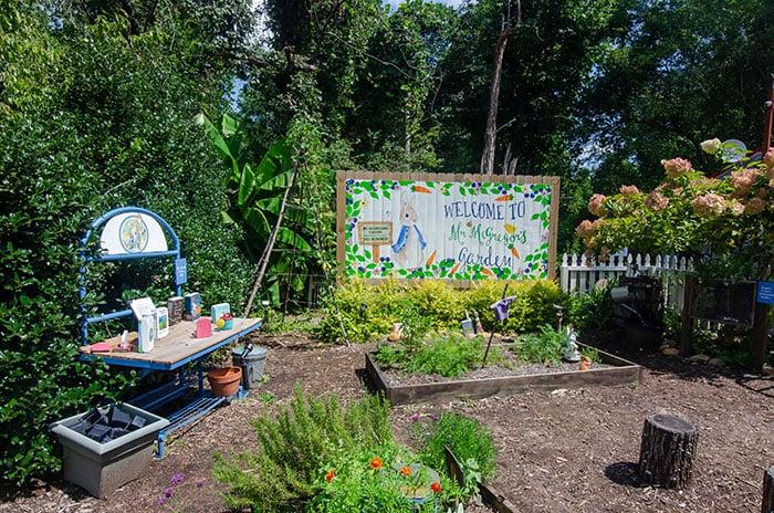 Lake Lure Flowering Bridge whimsical garden