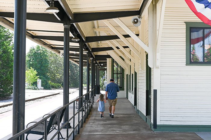 Things to Do in Southern Pines Downtown Train Station