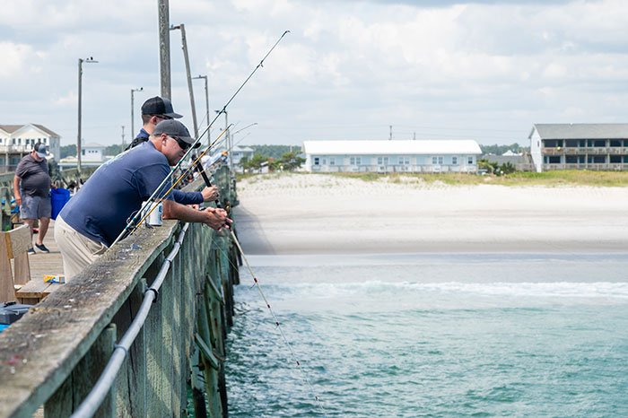 Things to do on Topsail Island Fishing
