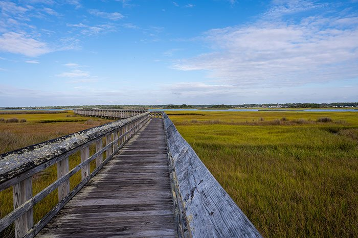 Things to do on Topsail Island Kenneth Batts Boardwalk