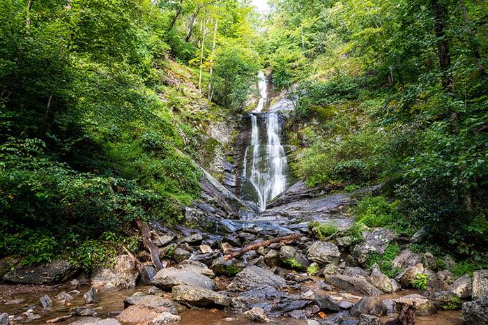 Toms Creek Falls NC