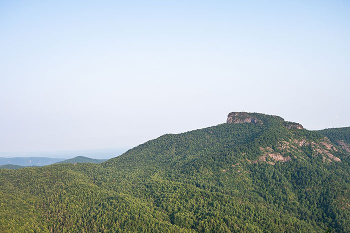 View of Table Rock from Wisemans View
