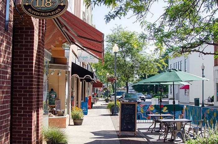 Downtown Morganton North Carolina