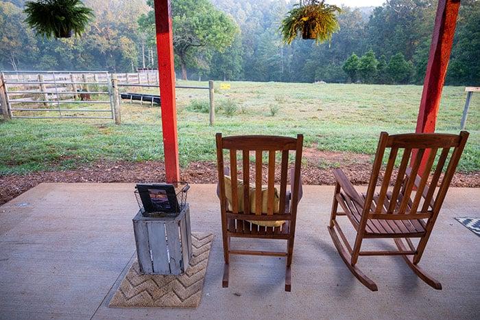 Farm Cottage Airbnb near Morganton