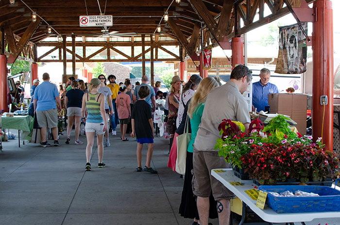 Small Towns in North Carolina Carrboro Farmers Market
