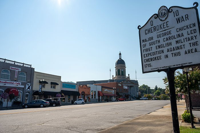 Small Towns in North Carolina Murphy