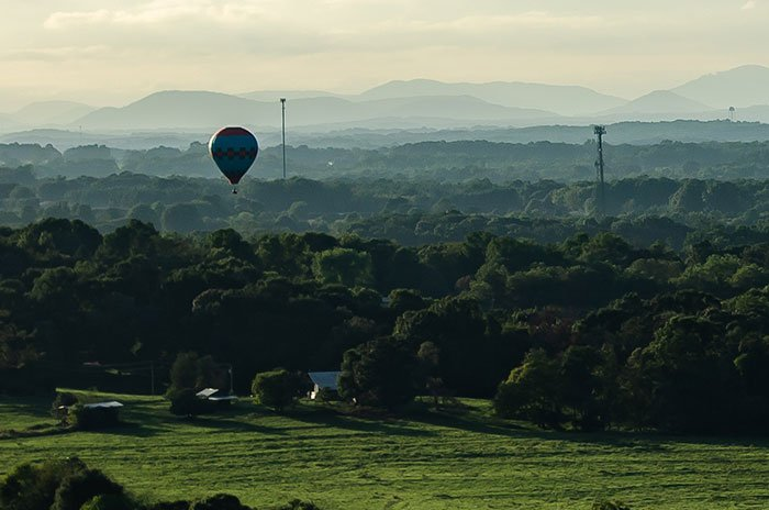 Small Towns in North Carolina Statesville Balloons