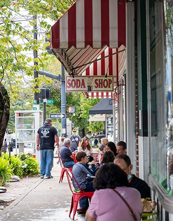 Things to do in Brevard NC Rockys Soda Shop
