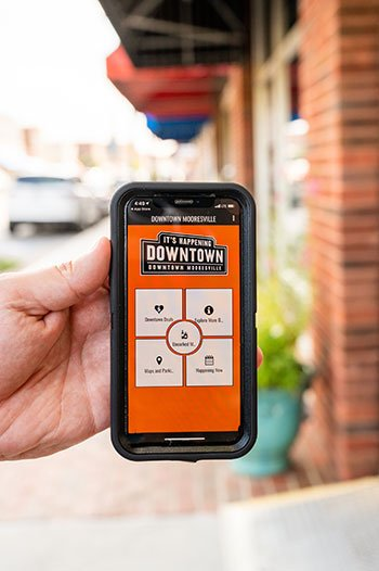 Things to do in Mooresville Downtown App