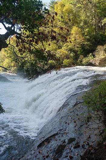 Turtleback Falls near Rainbow Falls